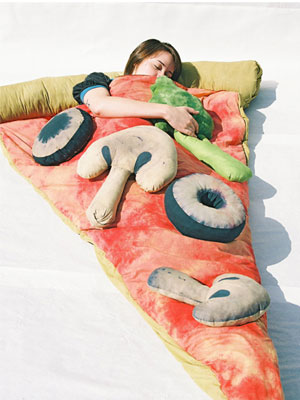 SACO DORMIR PIZZA
